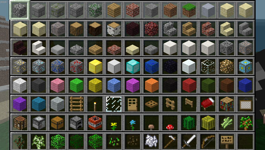 how to get inventory minecraft